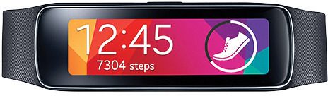 Samsung Galaxy Gear Fit ~ Black